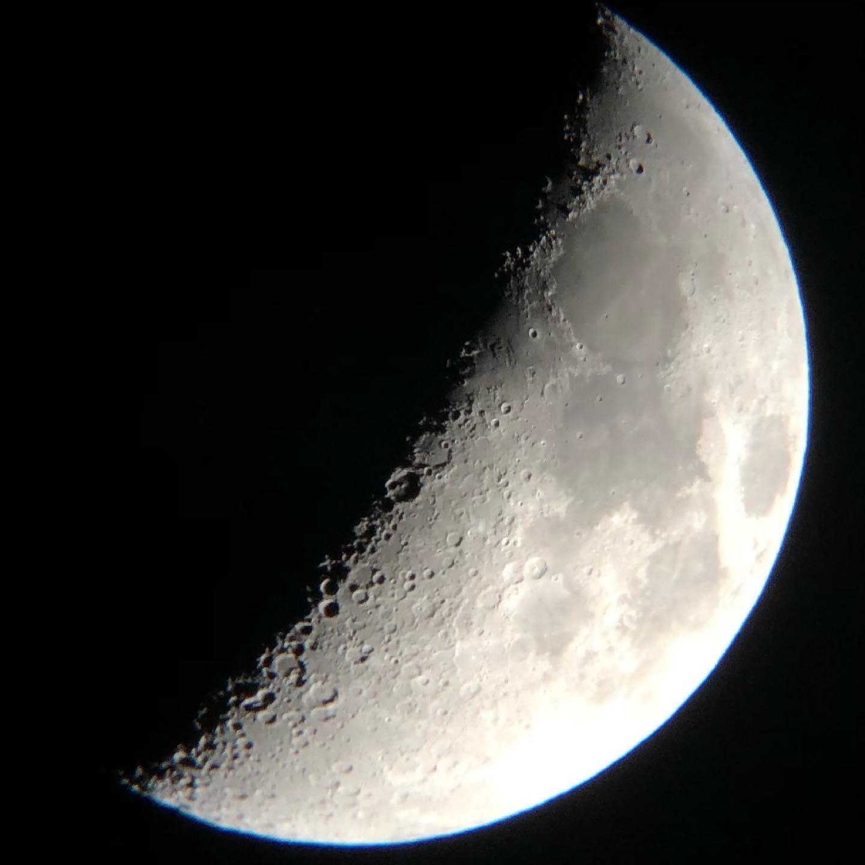 今宵の月 は月面Xが︎